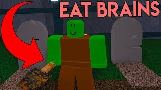 ROBLOX ZOMBIE MINING SIMULATOR *EAT BRAINS AND DIG!*