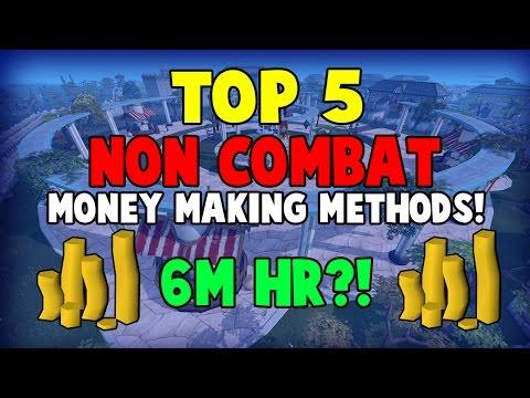 Runescape 2017 | Top 5 Non-combat Money Making Methods | 6m/hr?!