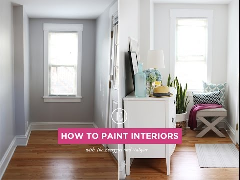 How to Paint Interiors 101 - Tutorial