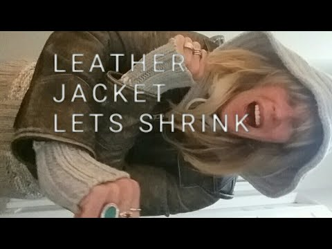 LEATHER JACKETS WASH and SHRINK answers to your questions!