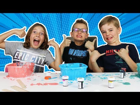 HOW BOYS MAKE SLIME!!! REVENGE ON KARINA!