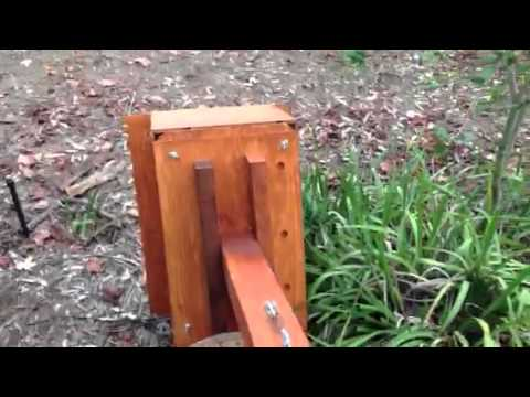 Barn Owl Box - mounting on a pole (1 of 2))