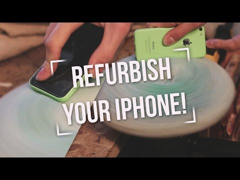 How to REFURBISH your OLD iPHONE, make it LOOK NEW!