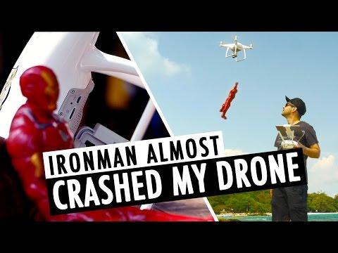 Ironman Almost Crashed My Phantom 4 Drone | EPIC Koh Samet SUNSET | RehaAlev