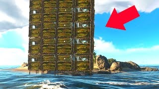 BUILDING A SKYSCRAPER! (Stranded Deep #6)