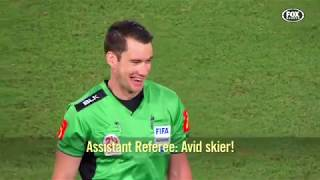 Mic'd up   An exclusive look at a referee's perspective of an A-League game