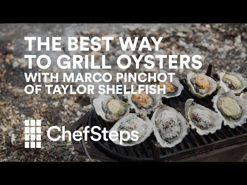 The Best Way to Grill Oysters, With Marco Pinchot of Taylor Shellfish
