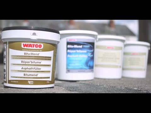 How to quickly fill potholes | Watco
