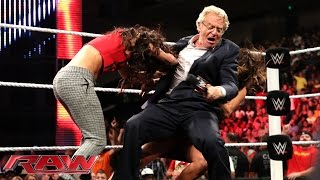 Jerry Springer moderates a Bella Twins intervention: Raw, Sept. 8, 2014