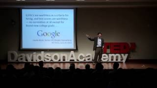 What you need to learn for success   Dr. Ernest H. Wu   TEDxDavidsonAcademy