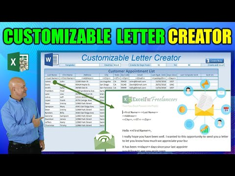How To Create Custom Word Documents From Excel WITHOUT Mail Merge