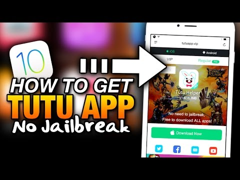 How To Get TUTU APP No Jailbreak ON iOS 10 - FREE PAID APPS, CYDIA APPS & ++ APPS