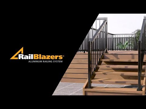 RailBlazers - Stair Railing Installation