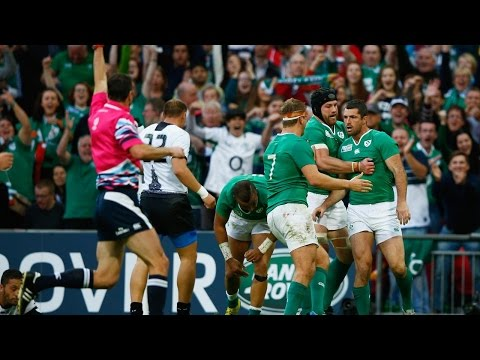Ireland v Romania - Match Highlights and Tries in the RWC