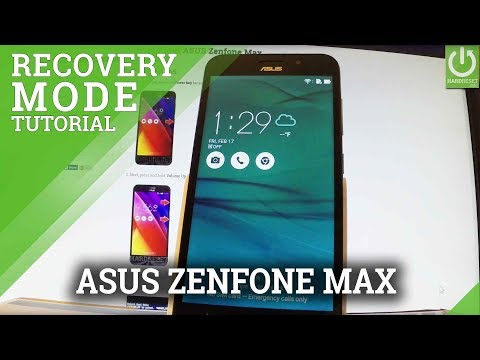 Recovery Mode ASUS Zenfone Max - Enter / Quit ASUS Recovery