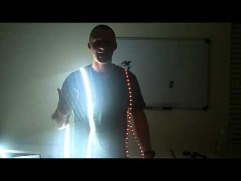 LED rope lighting vs LED strip light review