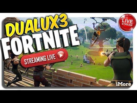 DUALUX3 LIVE Fortnite EASTER SUNDAY lets go!