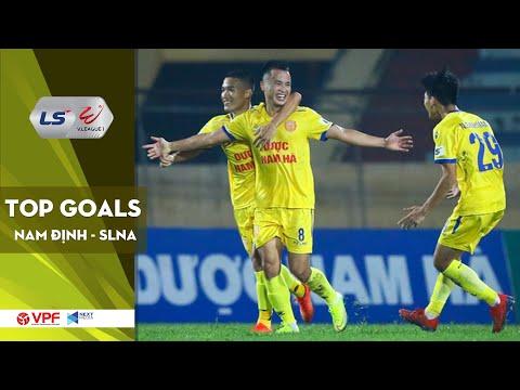 DNH Nam Định - SLNA   Top Goals   Khoảnh khắc thiên tài của Lê Sỹ Minh   VPF Media