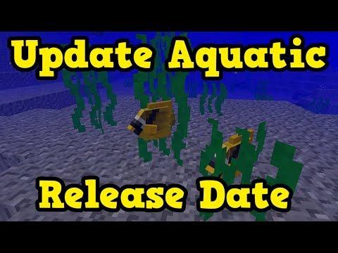 Minecraft 1.13 Update Aquatic Release Date (PE, Xbox)