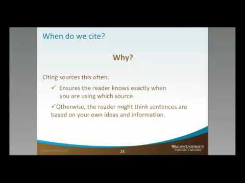 How Often We Cite Sources