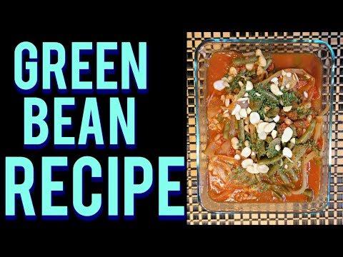 Vegan Lebanese Green Bean Stew Crock Pot Recipe| Dr Dray