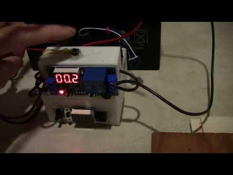 DIY battery tab spot welder diagram