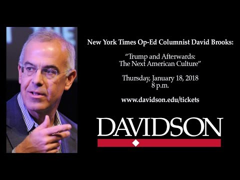 Full Recording -- David Brooks: