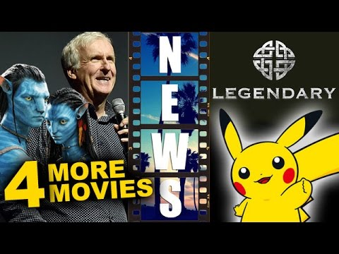 Avatar Four More Movies starting 2018, Legendary for Live Action Pokemon Movie - Beyond The Trailer
