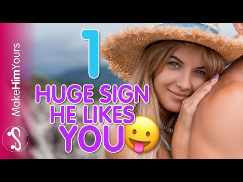 How To INSTANTLY Tell If A Guy Likes You – 1 Guaranteed Sign A Guy Likes You!