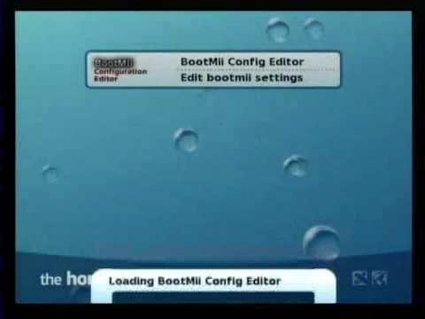 BootMii Configuration Editor