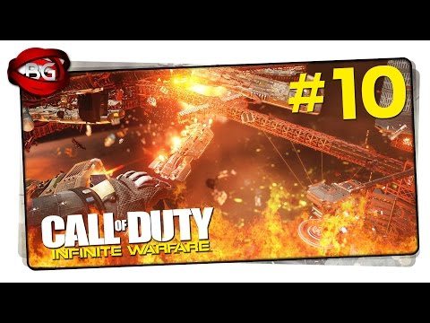 Call Of Duty Infinite Warfare Walkthrough Part 10 - Operation Blood Storm COD IW Campaign