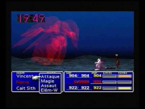 FF7 - Another way to beat Emerald Weapon in 7 seconds (no overflow)