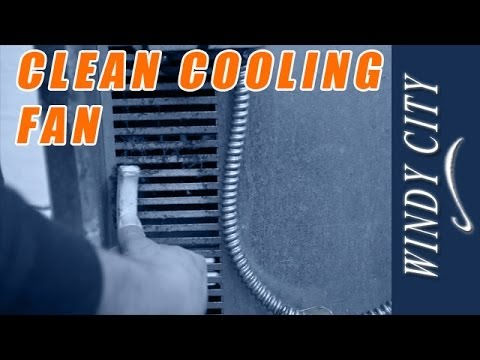 How to clean cooling fan on Imperial convection oven | Windy City Restaurant Maintenance Tips