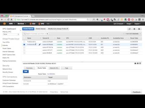 Amazon Web Services - Virtual Private Cloud Tutorial | Build Your VPC - The Easy Way - Part 1