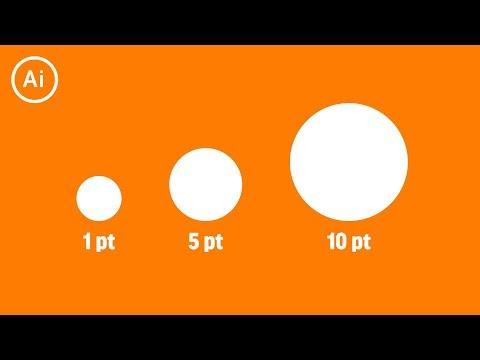 Line Stroke Trick to Make a Perfect Circle | Illustrator CC Tutorial