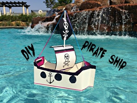 DIY Pirate Ship - Using Recyclables!