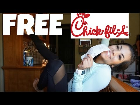 HOW TO GET FREE CHICK FIL A SANDWICHES