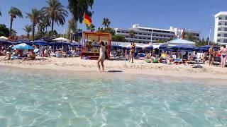 Nissi beach  Ayia Napa Cyprus  October  2017