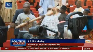 Saraki Condemns Senate Invasion As PDP Says Act Is Not Strange |Politics Today|