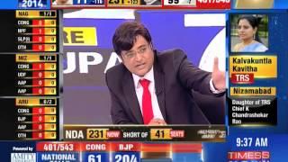 'NDA wins India 2014 election' : Ab ki baar, Modi sarkaar