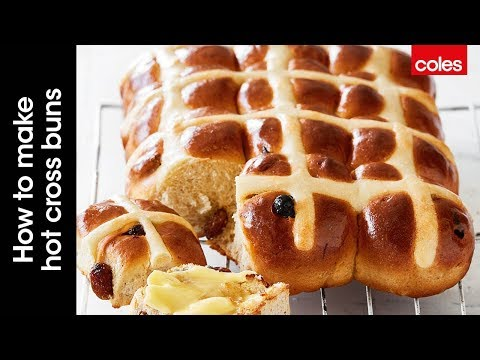 How to make traditional hot cross buns