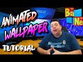How To Enable Animated Desktop Wallpaper in Windows 7/8/8.1/10 with Wallpaper Engine on Steam