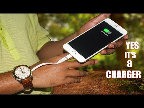 How to charge your phone using body heat || New Inventions