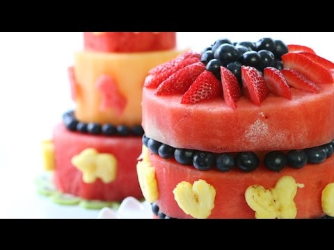 How to Make Watermelon Cake | Simply Bakings