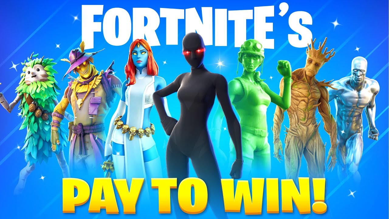 15 Fortnite PAY TO WIN Skins