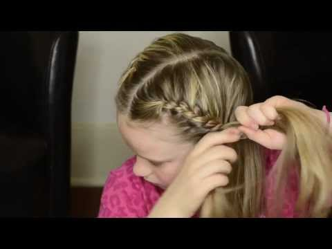 How to French Braid Your Own Hair Into Pigtails