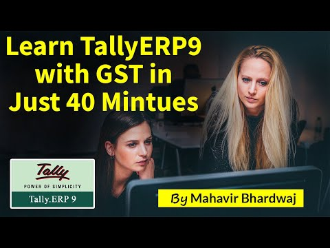 Tally ERP 9 Complete Video Training Full