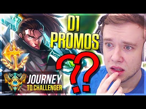 BRINGING YASUO BACK! BEST OR WORST DECISION?? D1 PROMOS - Journey To Challenger | League of Legends