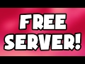 HOW TO GET A FREE MINECRAFT SERVER!! | Minecraft