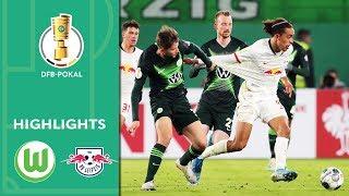 VfL Wolfsburg vs. RB Leipzig 1-6 | Highlights | DFB-Pokal 2019/20 | 2nd Round